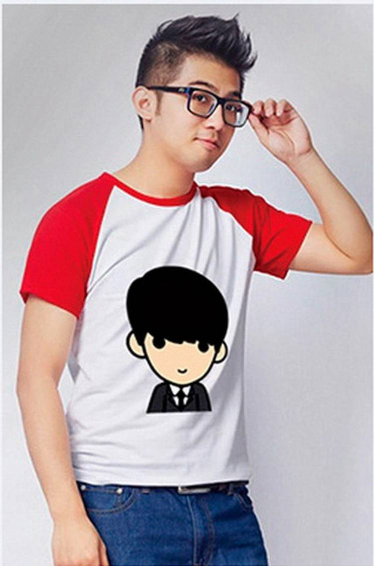 圆领短袖广告衫定做  HY-T11
