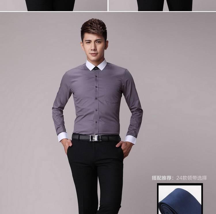 夏季工作服 长短袖 高档衬衣HY-CY4