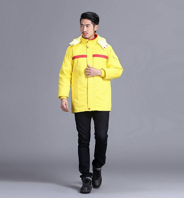 中石油加油站冬装棉衣工作服DJ7