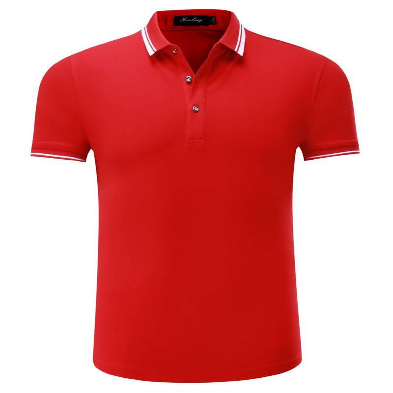 高品质短袖polo衫批发6888主图2