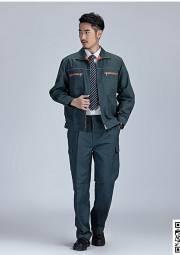 春秋 长袖 工作服套装 HY-CQ61