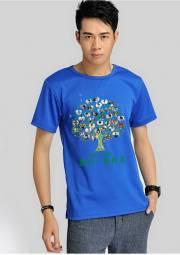 夏季工作服 长短袖  T恤 广告衫HY-T9