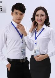 办公室长袖衬衣 HY-CY10