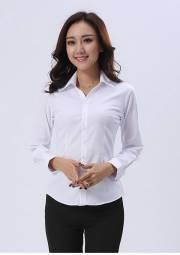 办公室长袖衬衣 HY-CY12