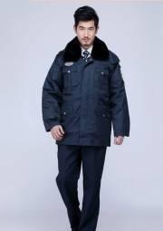 冬季保安棉服  厂家可定制 冬季工作服定做DJ1