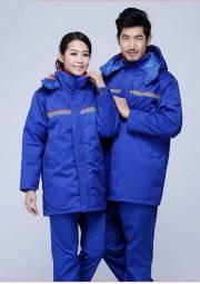 冬季加油站防静电工作劳保服棉衣 冬季工作服定做DJ2