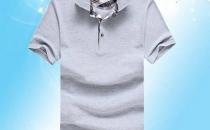 新款全棉男式翻领短袖工衣批发 POLO工作服批发 厂家直销csl24