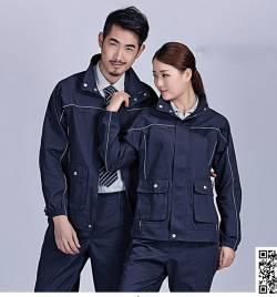 春秋 长袖 工作服套装 HY-CQ26