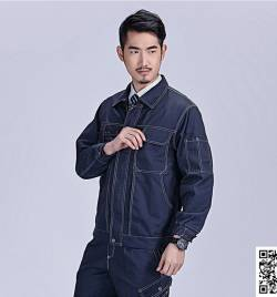 春秋 长袖 工作服套装 HY-CQ28
