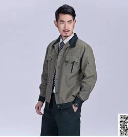 春秋 长袖 工作服套装 HY-CQ35
