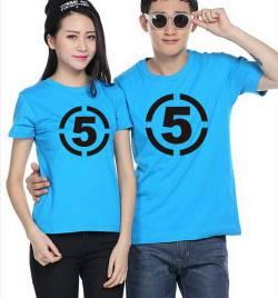 莱卡棉圆领广告衫定做 夏季T恤工作服定做 可印绣LOGO HY-T3