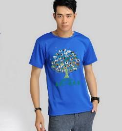 短袖圆领速干广告衫定做 夏季T恤工作服定做 可印绣LOGO HY-T9