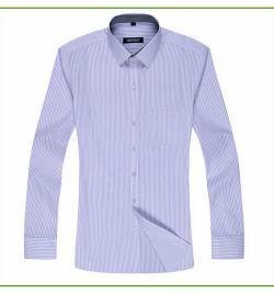 长袖条纹男士衬衣 HY-CY8