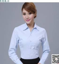 夏季工作服 长短袖 高档衬衣HY-CY13