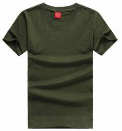 新款圆领广告衫 纯棉短袖文化衫批发 可印绣LOGO