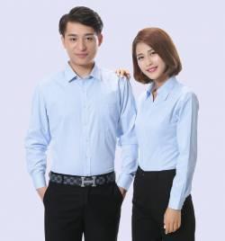 职业装衬衫 新品韩版长袖纯色女修身V领衬衣衬衫 厂家直销